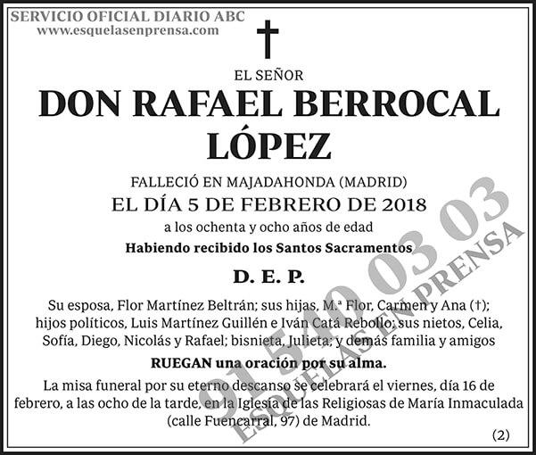 Rafael Berrocal López